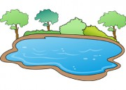 Lake Water Clipart.