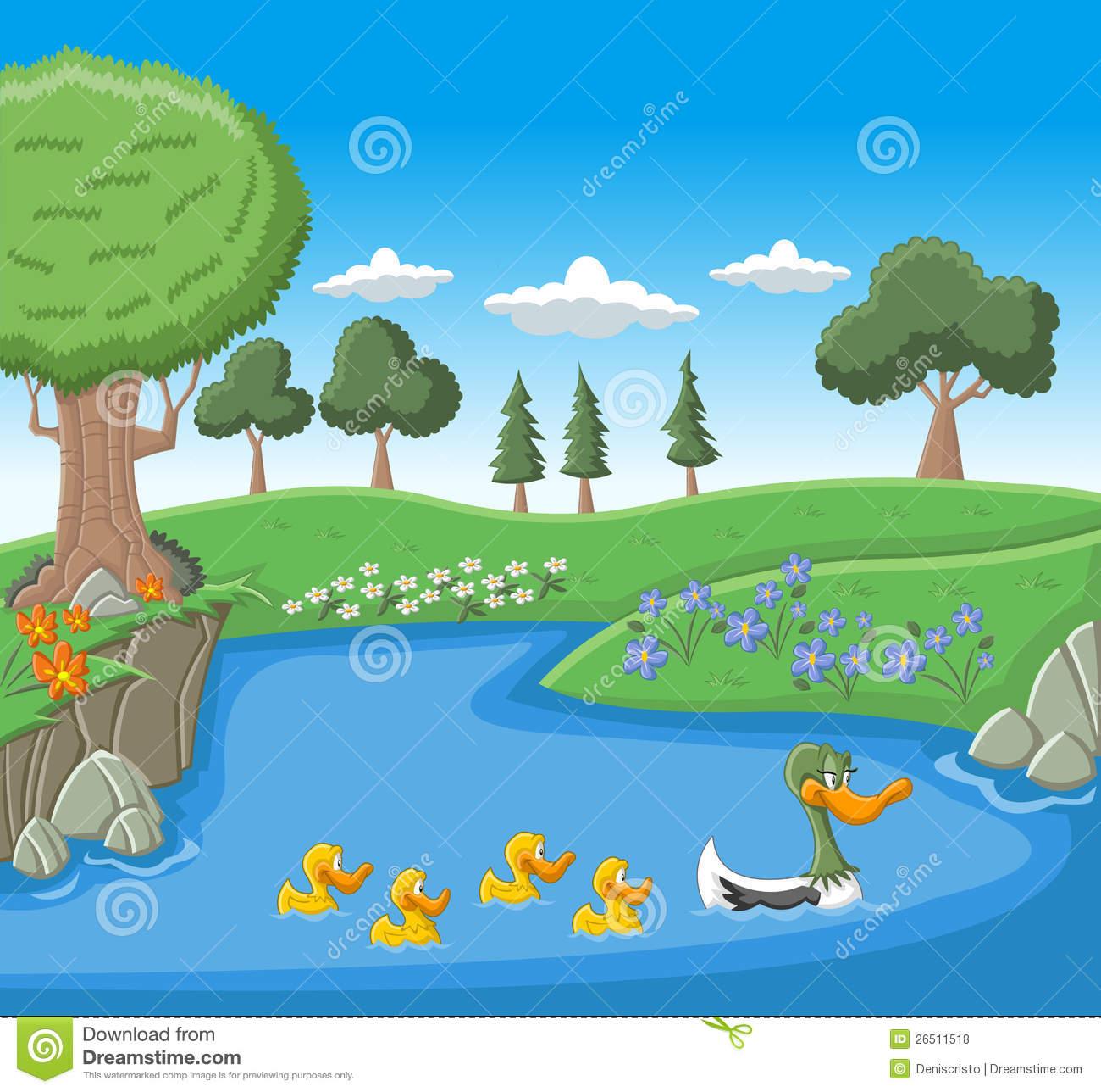 Lake Clip Art Page 1.