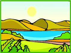 Lake clip art free free clipart images image.