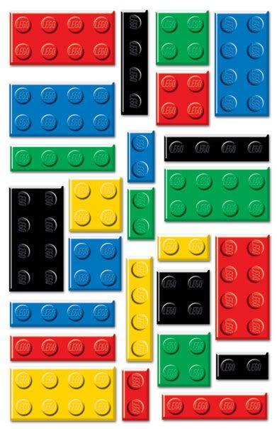 LEGO Brick Clip Art.