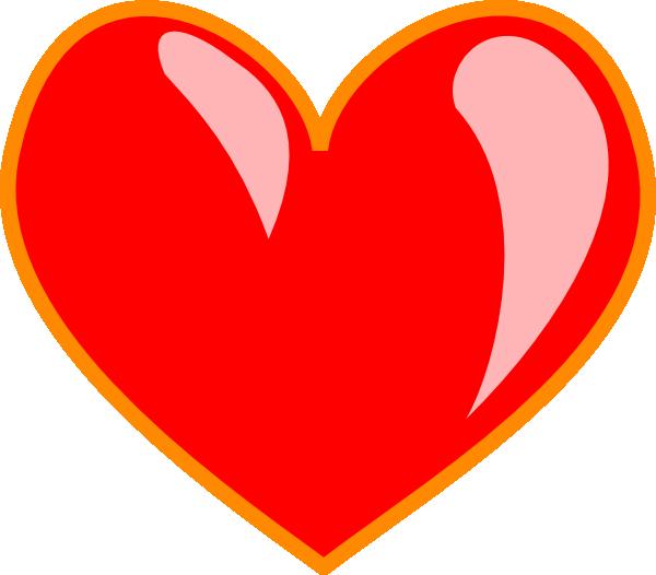 Heart 2 Clip Art at Clker.com.