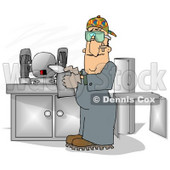 Sheet Metal Clipart by Dennis Cox.