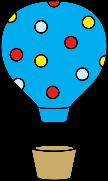 Hot Air Balloon Clip Art.