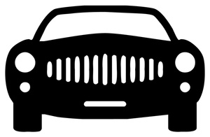 Car Front End Clipart.