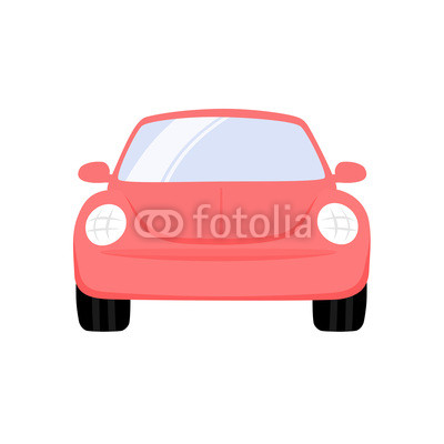 Car Clipart Front View.