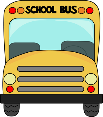 School Bus Front Clip Art.