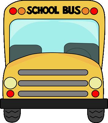 School Bus Front Clip Art.