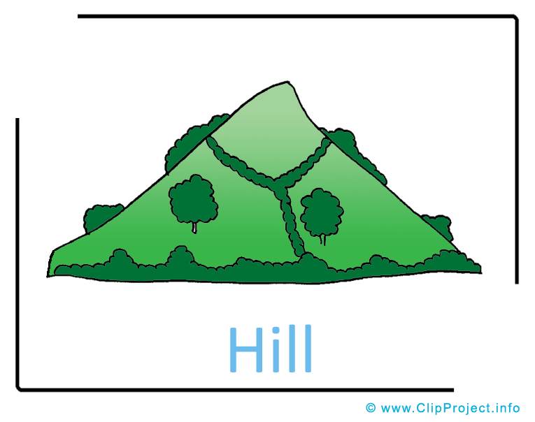 Hill Clipart.