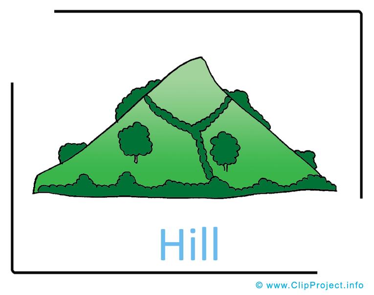Hill Clipart.