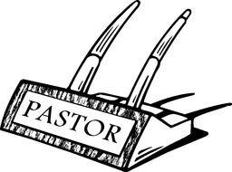 Pastors Desk Clip Art N2 free image.