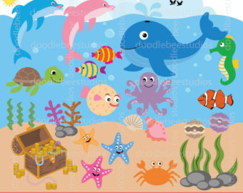 Sea clip art.