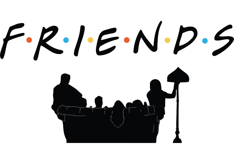 Friends tv series clipart.