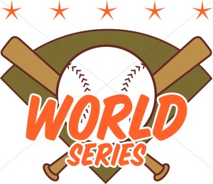 World Series Header Clipart.