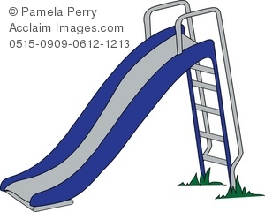 Clipart playground slide.