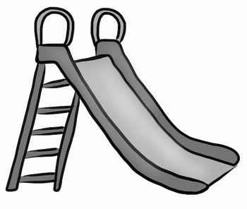 Slide clip art.