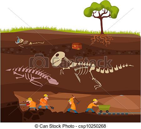 Dig Clip Art Underground.