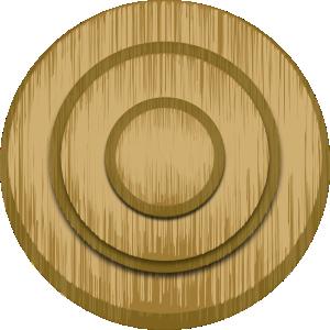 Wood Target Clip Art at Clker.com.