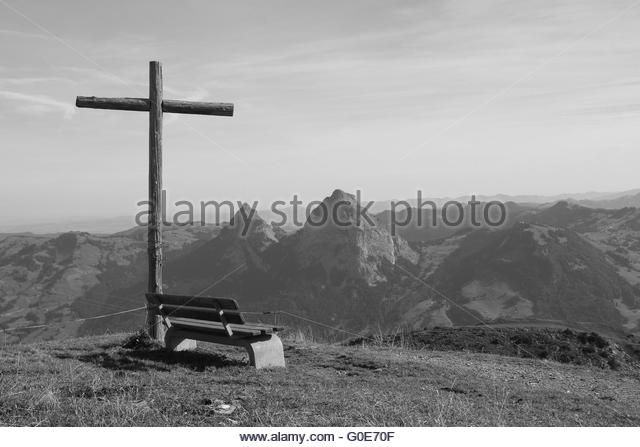 Black White Swiss Mountain Scene Stock Photos & Black White Swiss.
