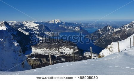 Fronalpstock Stock Photos, Royalty.