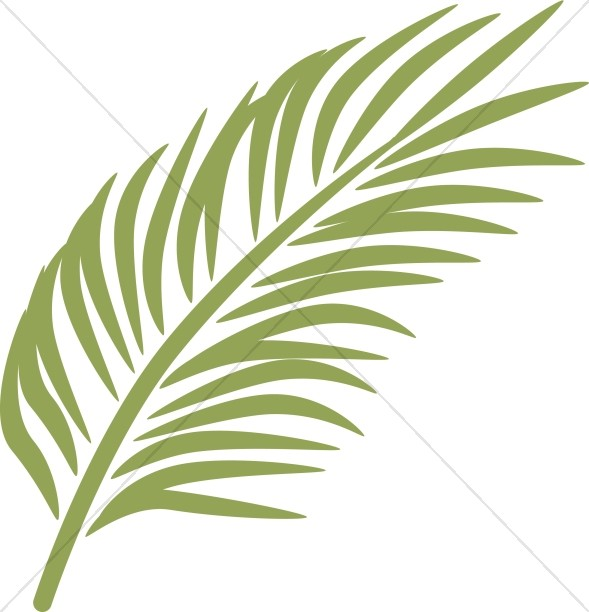 Contemporary Palm Frond.