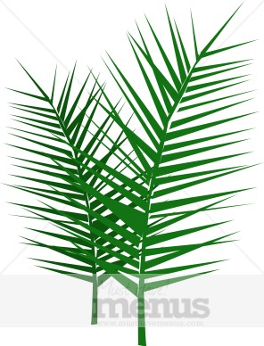 Palm Frond Clipart.