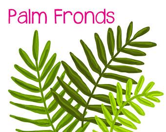 Palm frond art.