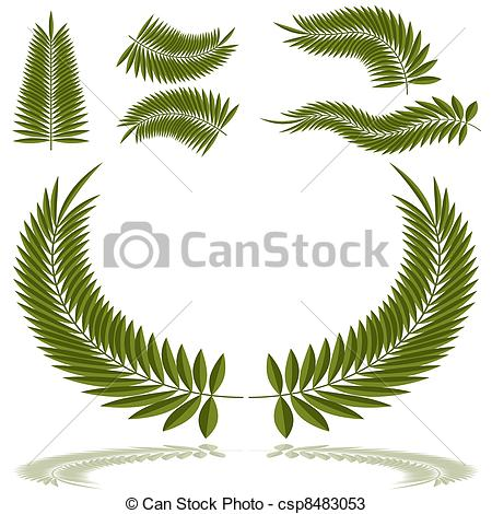 Fronds Illustrations and Clip Art. 4,974 Fronds royalty free.