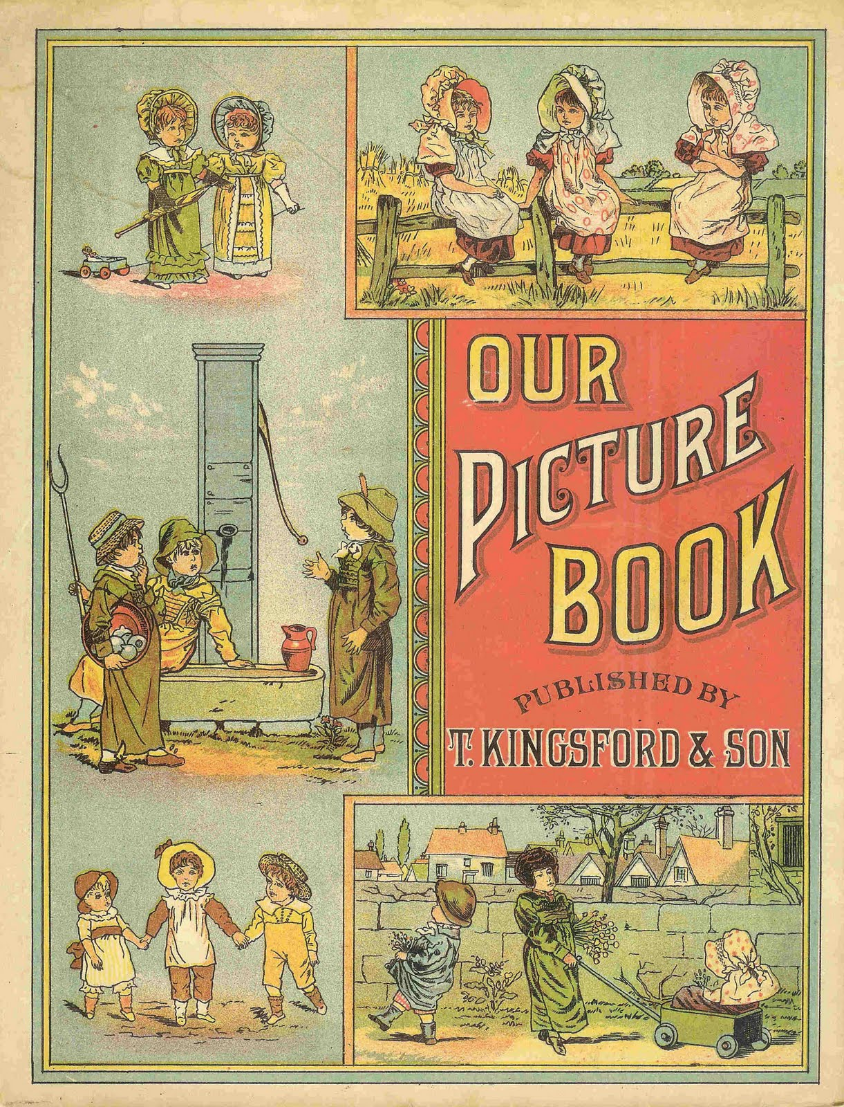 Antique Images: Free Antique Clip Art: Front and Back Covers of.