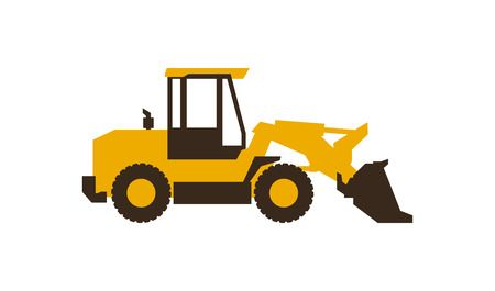 76 Front End Loader Stock Vector Illustration And Royalty Free Front.