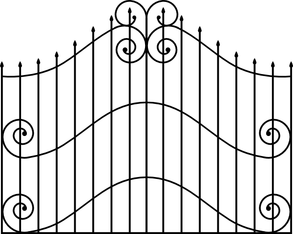 the gate clipart