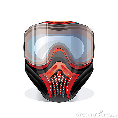 Paintball Mask Clipart.
