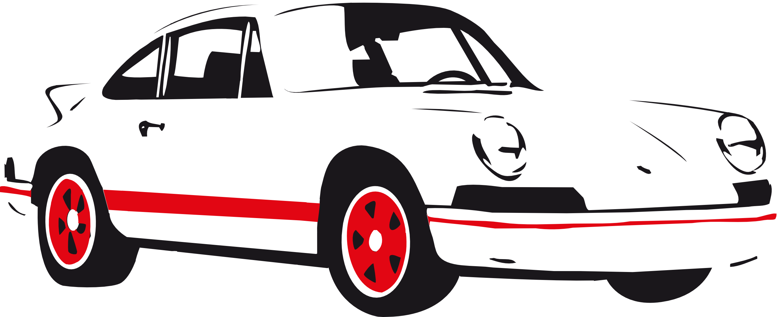 Vector Car Graphics.