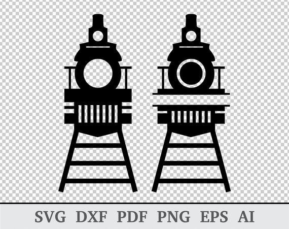 Train Monogram SVG, Train svg, Train Front SVG, Train Clipart, Train  Vector, Railway svg, cricut & silhouette, vinyl, dxf, ai, pdf, png, eps.