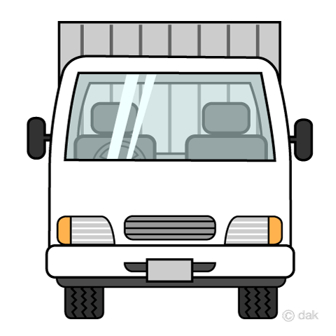 semi truck front view clipart Archives.