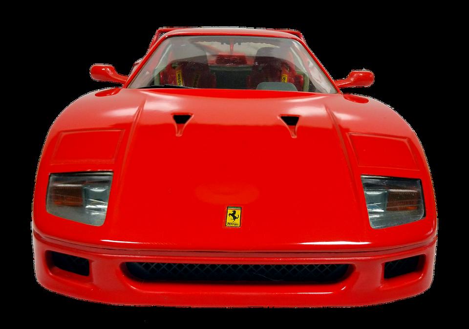 Ferrari Racing Car Model.