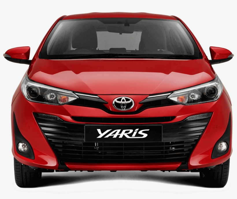 Toyota Yaris Front Png PNG Image.