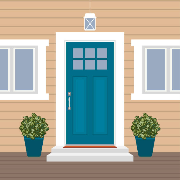 Best Front Porch Illustrations, Royalty.
