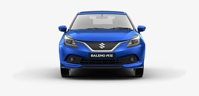 Balenors Urban Blue Car Front View.