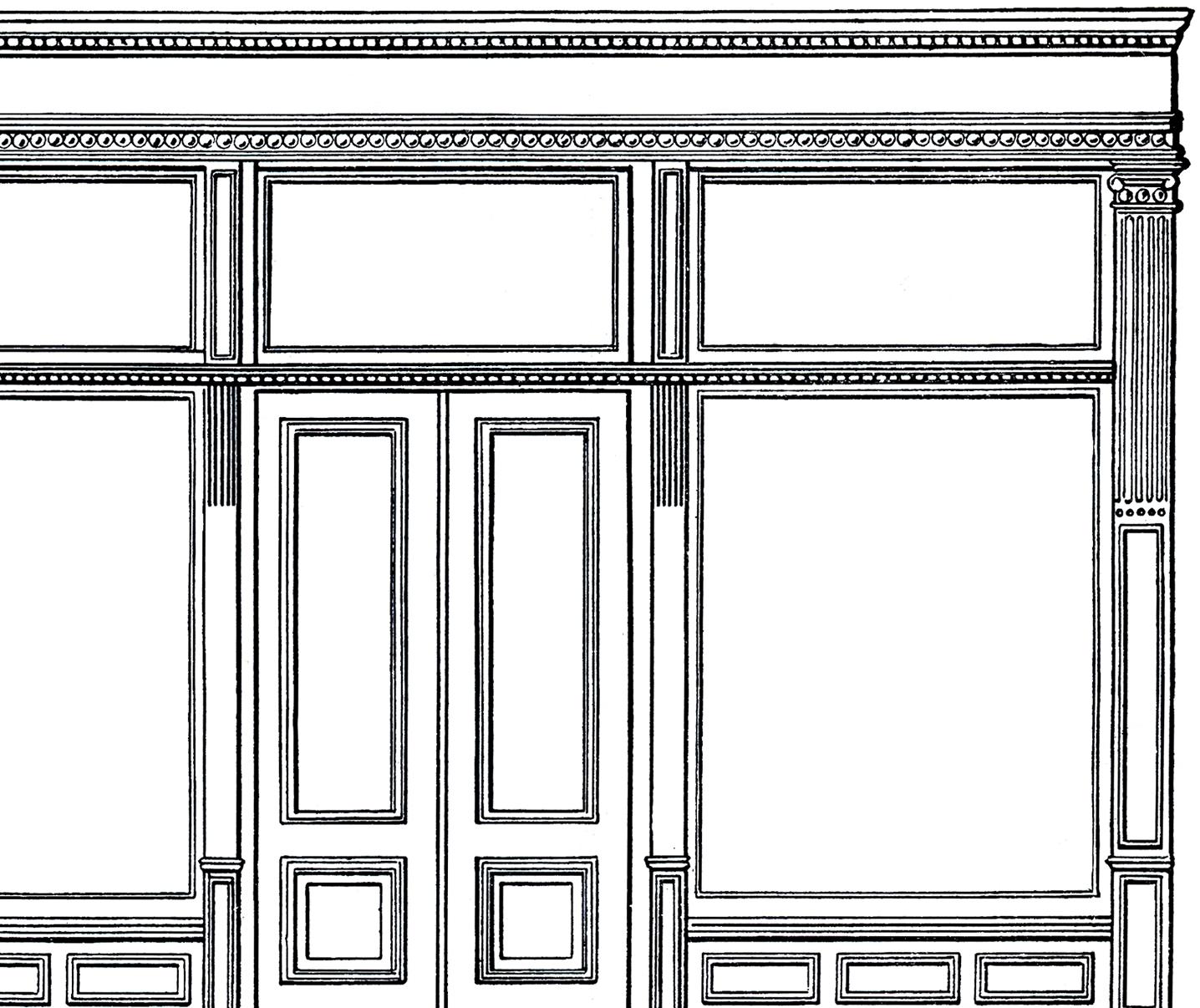 Store Window Clipart.