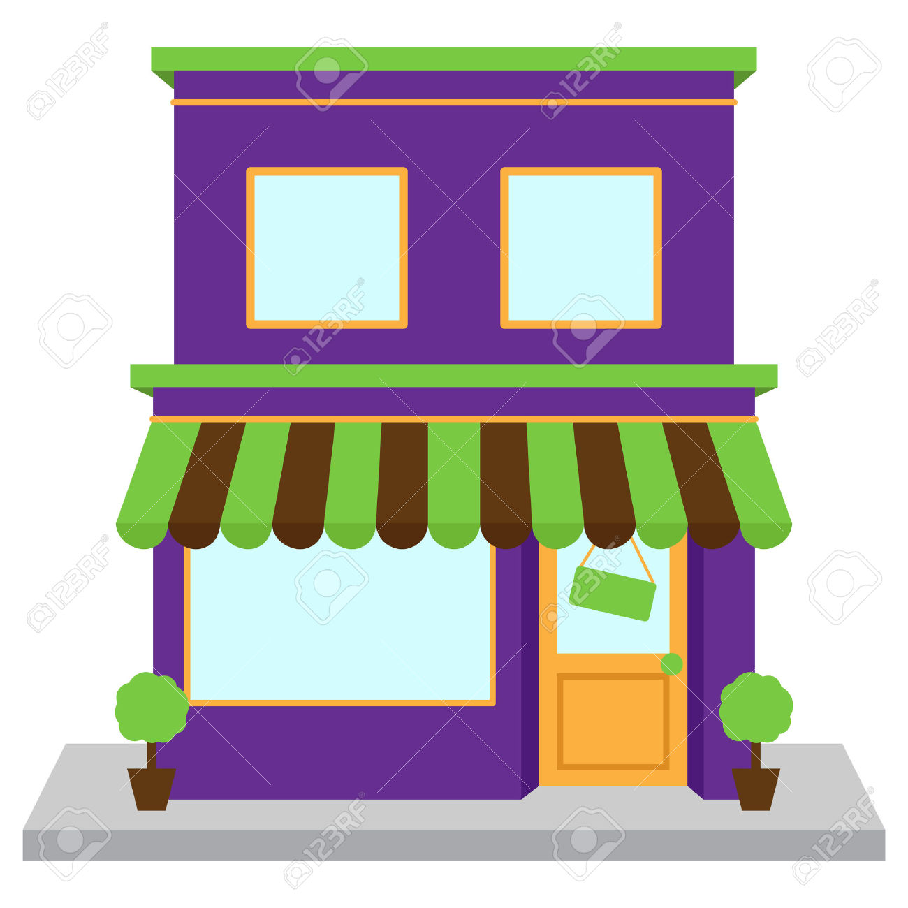4,474 Shop Front Window Stock Illustrations, Cliparts And Royalty.