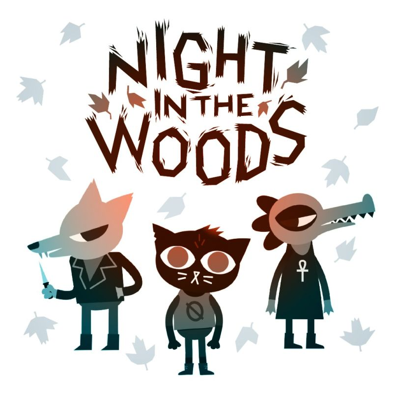 Night in the Woods (2017) Linux box cover art.