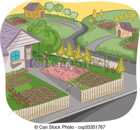 Front yard Illustrations and Clip Art. 1,487 Front yard royalty.