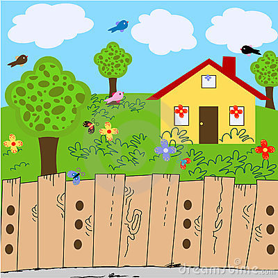 Front yard clipart - Clipground