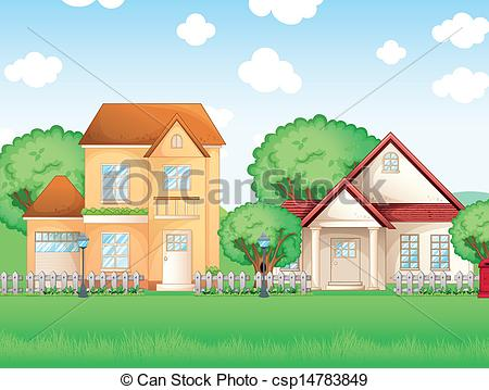 Frontyard Illustrations and Clip Art. 66 Frontyard royalty free.