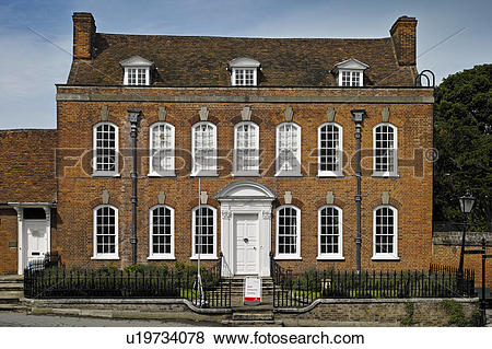 Pictures of England, Essex, Thaxted. The frontage of Clarence.