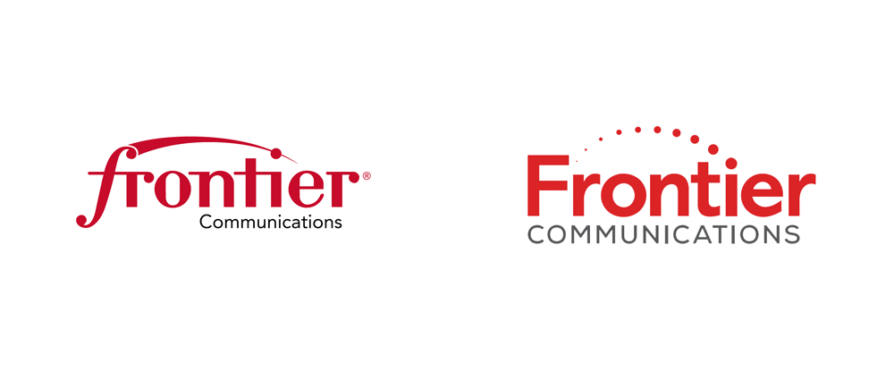 Brand New: New Logo for Frontier Communications.