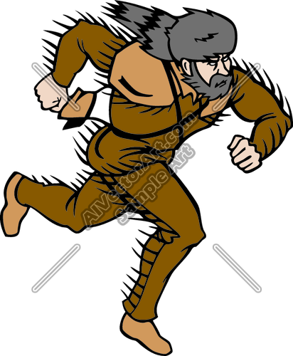 frontiersman9 Clipart and Vectorart: Sports Mascots.