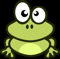 frosch cliparts, kostenlose clipart.