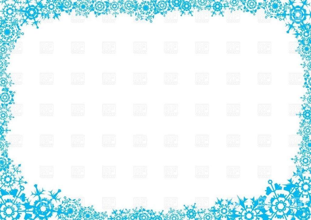 Frozen Frame Clipart.