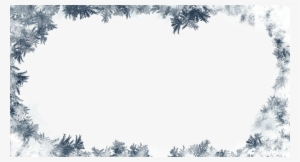 Frost Border PNG Images.